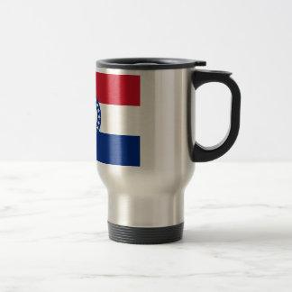 Bandera de Missouri Tazas De Café