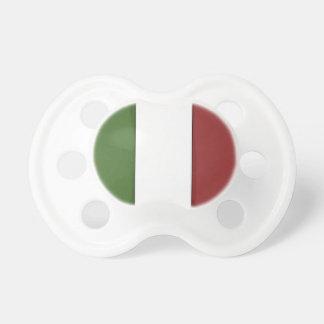 Bandera de moda del pacificador de Italia Chupetes