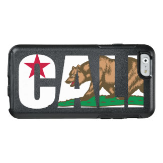 Bandera de moda fresca de Cali California Funda Otterbox Para iPhone 6/6s
