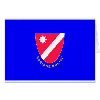 Bandera de Molise (Italia) Felicitación