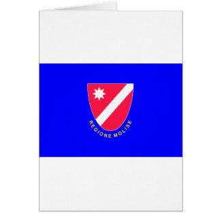 Bandera de Molise (Italia) Felicitaciones
