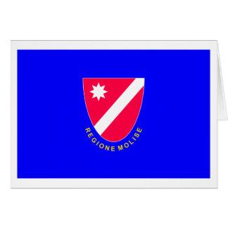 Bandera de Molise Tarjetas