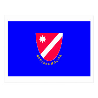 Bandera de Molise Tarjeta Postal