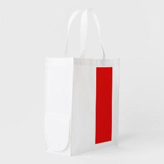 Bandera de Mónaco Bolsa Para La Compra