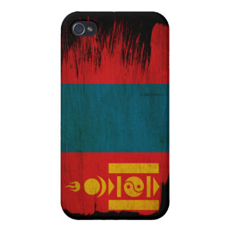 Bandera de Mongolia iPhone 4/4S Carcasa