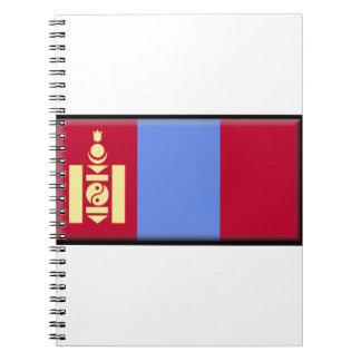 Bandera de Mongolia Libro De Apuntes