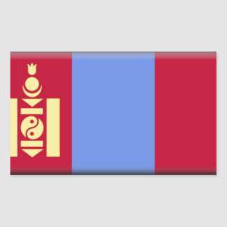 Bandera de Mongolia Rectangular Altavoces