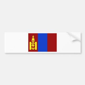 Bandera de Mongolia Pegatina Para Auto