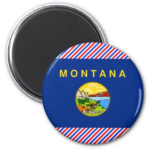 Bandera de Montana Imán