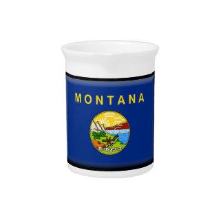 Bandera de Montana Jarra Para Bebida