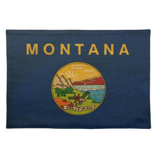 Bandera de Montana Mantel Individual