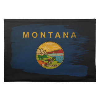 Bandera de Montana Manteles