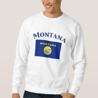 Bandera de Montana Pulovers Sudaderas
