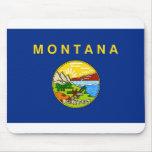 Bandera de Montana Tapetes De Raton