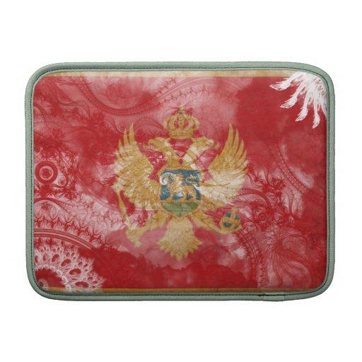 Bandera de Montenegro Funda MacBook