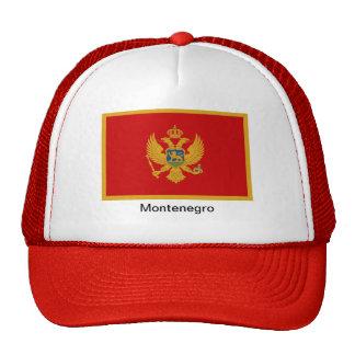 Bandera de Montenegro Gorra