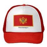 Bandera de Montenegro Gorro