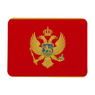 Bandera de Montenegro Imán