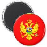 Bandera de Montenegro Imanes Para Frigoríficos