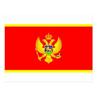 Bandera de Montenegro Postal