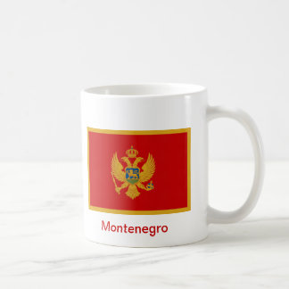 Bandera de Montenegro Tazas De Café