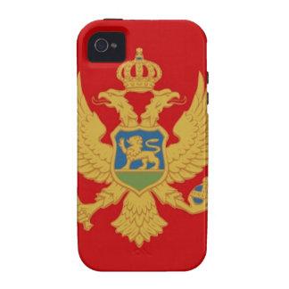 Bandera de Montenegro Vibe iPhone 4 Fundas