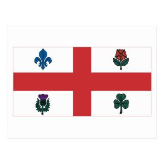 Bandera de Montreal Postales