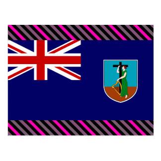 Bandera de Montserrat Tarjetas Postales