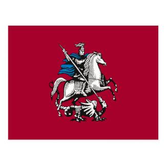 Bandera de Moscú, Rusia Postal