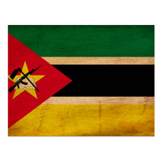 Bandera de Mozambique Tarjeta Postal