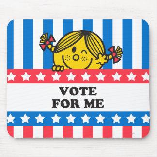 Bandera de ms Sunshine Vote For Me Tapete De Ratón
