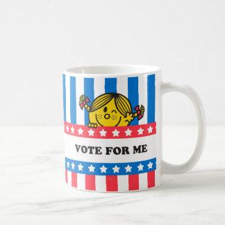 Bandera de ms Sunshine Vote For Me Taza Clásica