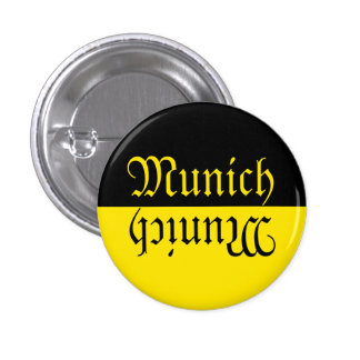 Bandera de Munich Pin Redondo De 1 Pulgada