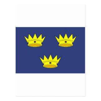 Bandera de Munster (Irlanda) Postal
