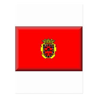 Bandera de Murcia (España) Tarjeta Postal