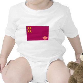 Bandera de Murcia Traje De Bebé