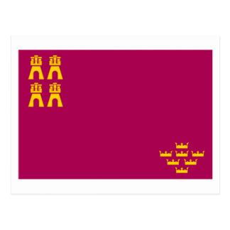 Bandera de Murcia Tarjetas Postales