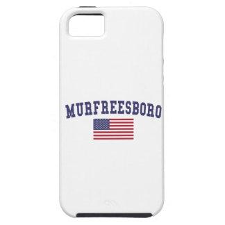 Bandera de Murfreesboro los E.E.U.U. iPhone 5 Funda