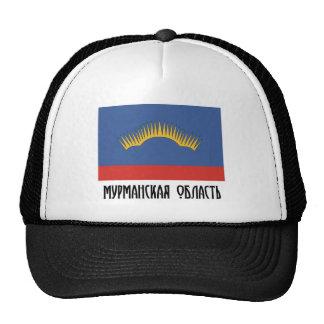 Bandera de Murmansk Oblast Gorras
