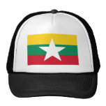 Bandera de Myanmar Gorra