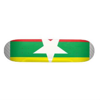 Bandera de Myanmar Patines Personalizados