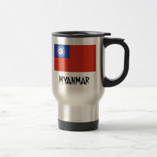 Bandera de Myanmar Tazas