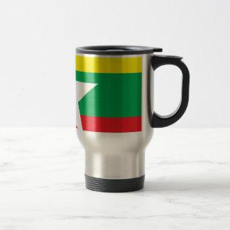 Bandera de Myanmar Taza De Café