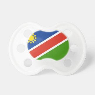 Bandera de Namibia Chupete De Bebe