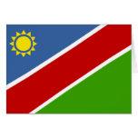 Bandera de Namibia Tarjeta