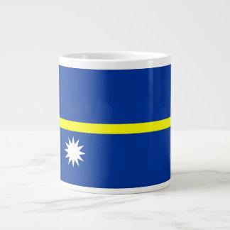 Bandera de Nauru Taza Grande