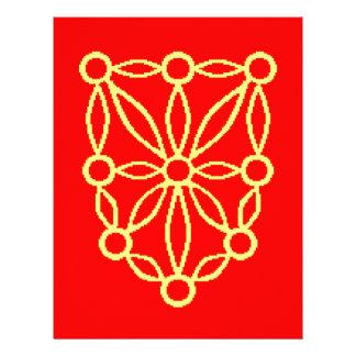 Bandera de Navarra (España) Membrete