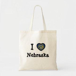 Bandera de Nebraska Bolsa De Mano