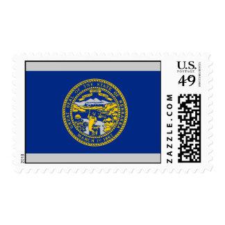 Bandera de Nebraska Franqueo