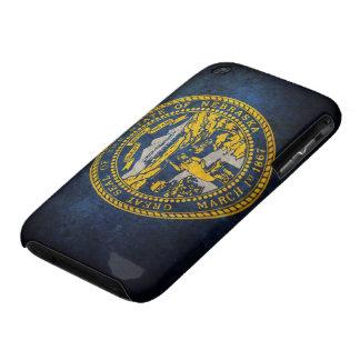 Bandera de Nebraska iPhone 3 Case-Mate Fundas